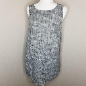 J. Jill Pure Jill linen sleeveless dress